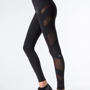 NWOT- Alo Yoga Women's Block High-Waist Legging